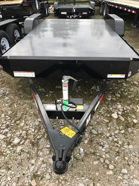 2018 Sure-Trac 7 x 18 Steel Deck Car Hauler Tandem Axle