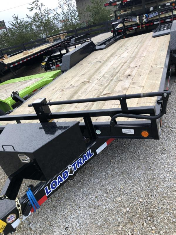 2019 Load Trail 18 Tandem Axle Equipment Trailer