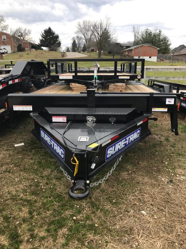2019 Sure-Trac 102x22 Deckover Tilt Tandem BP 15K in Ashburn, VA