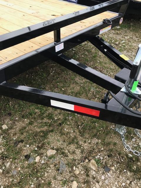 2019 Sure-Trac 7 X 16 Tube Top Utility  7K Tandem