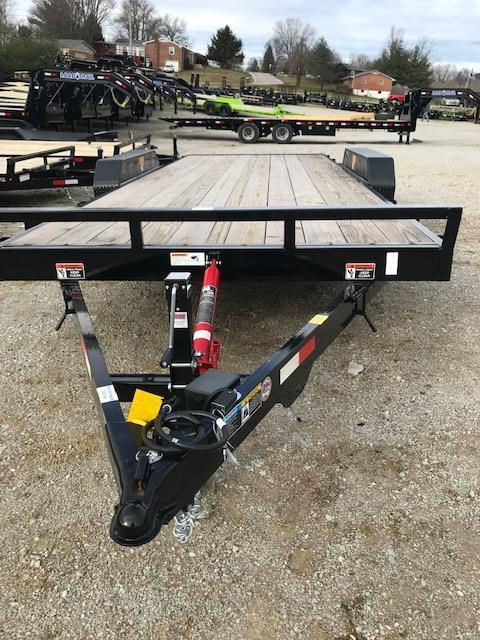 2019 Sure-Trac 7 x 18 + 4 Tilt Bed Equipment  16K