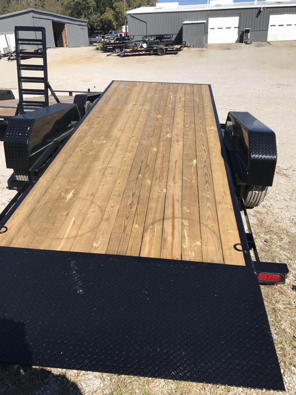 2019 Sure-Trac 7 X 18 + 4 Tilt Bed Equipment Tandem Axle