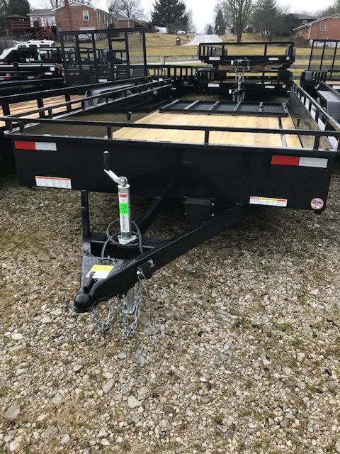 2019 Sure-Trac 7 x 16 Steel High Side 7K Tandem