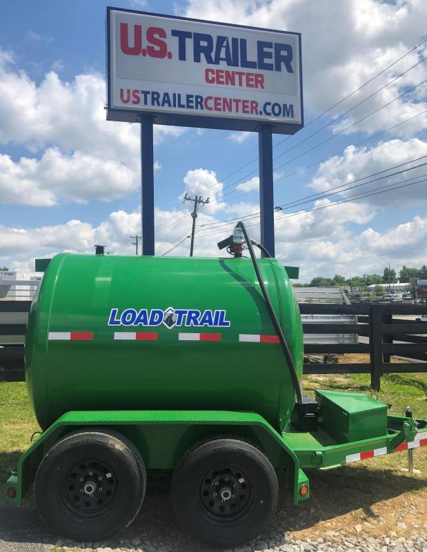 "2019 Load Trail 60"" X 10' 750 Gallon Tandem Axle Tank Equipment Trailer"