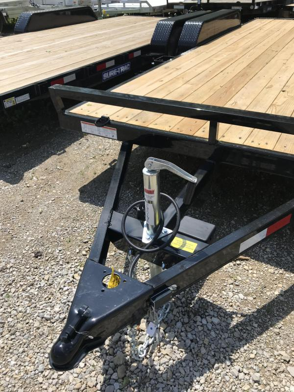 2018 Sure-Trac 7 X 20 Wood Deck Car Hauler Tandem Axle