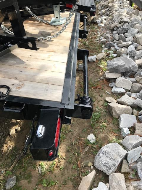 2019 Sure-Trac 7 x 18 Implement Trailer Tandem Axle