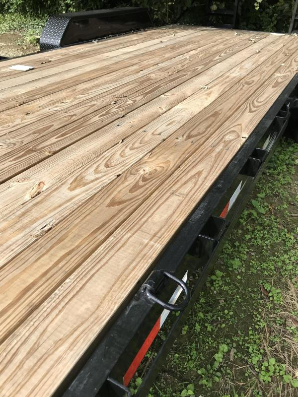 2018 Sure-Trac 7 x 20  Implement Trailer Tandem Axle