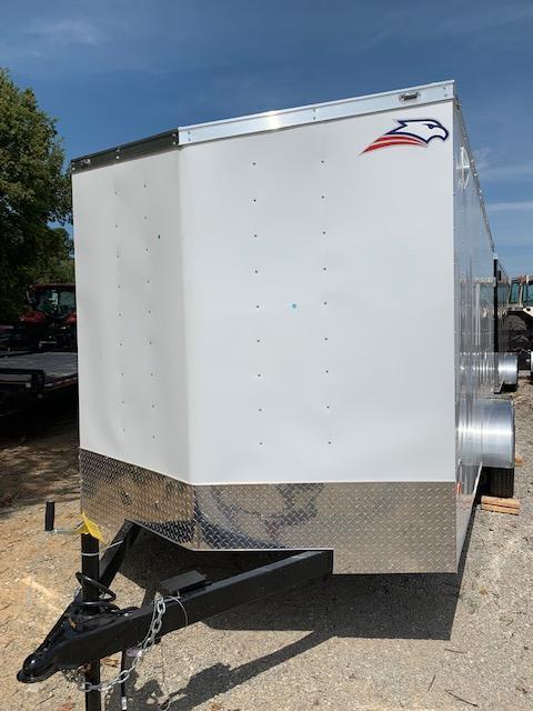 2019 American Hauler Industries 16' Tandem axle Enclosed Cargo Trailer