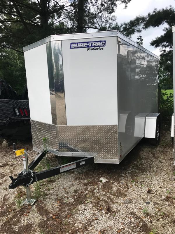 2018 Sure-Trac 6 x 12 Pro Series Wedge Cargo SA