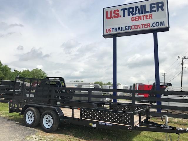 2019 Sure-Trac 7 X 16 Tube Top ATV 7K Tandem  in Ashburn, VA