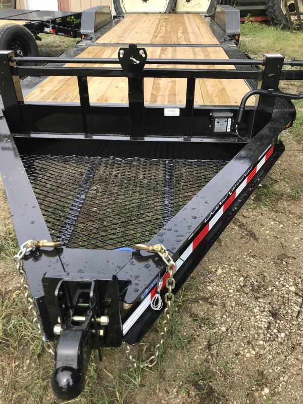 "2019 Load Trail 83"" X 24' Tilt-n-go Tandem Axle Equipment Trailer"