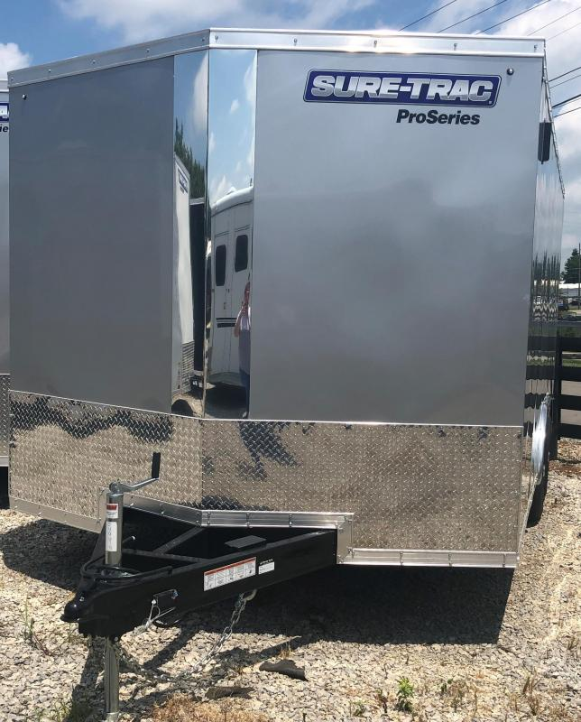 2019 Sure-Trac 8.5x16 Pro Series Wedge C. Hauler TA 10K