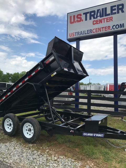 2019 Sure-Trac 72 IN x 10 LProfile 7K Single Ram Dump