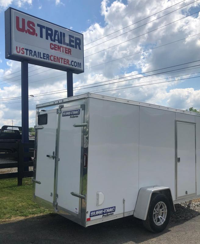 2019 Sure-Trac 6 X 12 Pro Series Wedge Cargo Enclosed Cargo Trailer