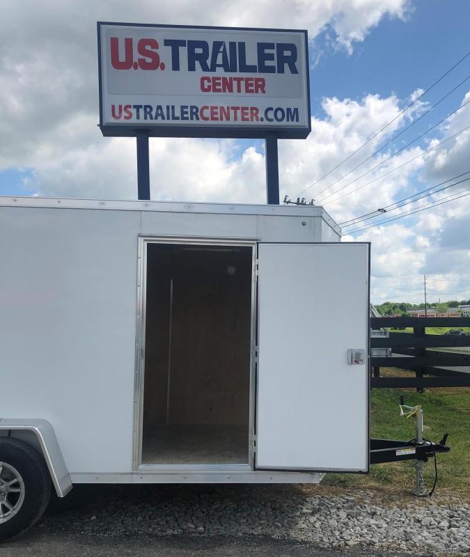 2019 Sure-Trac 6 X 12 Pro Series Wedge Cargo Enclosed Cargo Trailer