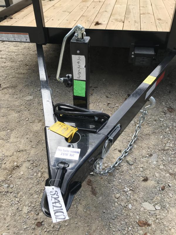 2019 Sure-Trac 7 X 20 Tube Top Utility 10K Tandem