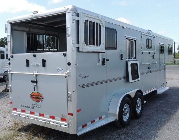 2019 Sundowner Charter TR SE 2+1 GN - Upgraded Axles and Bigger Stall