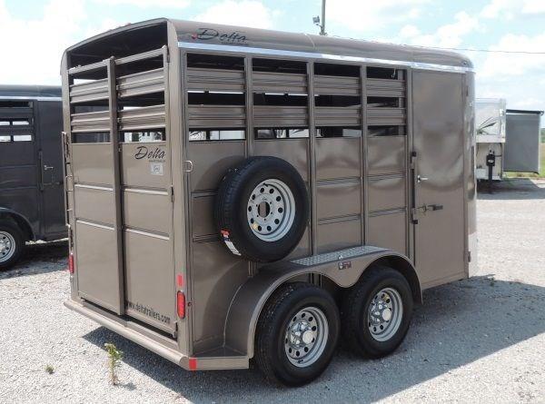 2020 Delta 500 Series 2 Horse Bumper Pull Trailer