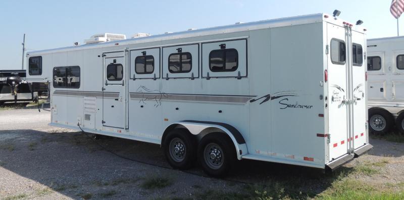 2003 Sundowner Trailers Trailer Blazer III 7408 Horse Trailer