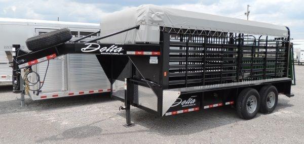 """2019 Delta Cattleman 16 x 6'8"""" Trailer"""