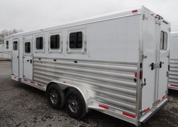 2018 Exiss 7400 Gooseneck Horse Trailer