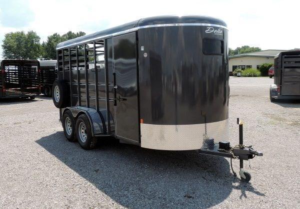 2020 Delta 500 Series 3 Horse Bumper Pull Trailer