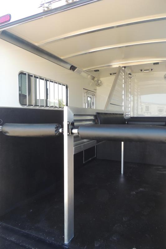 2020 Cimarron Trailers 2 Horse Straight Load XL Stalls Horse Trailer