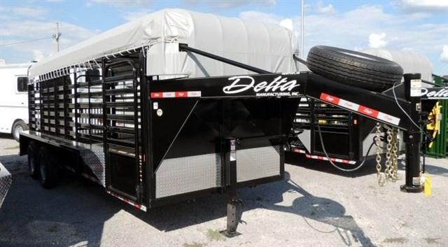 """2019 Delta Cattleman 20 x 6'8"""" Trailer"""