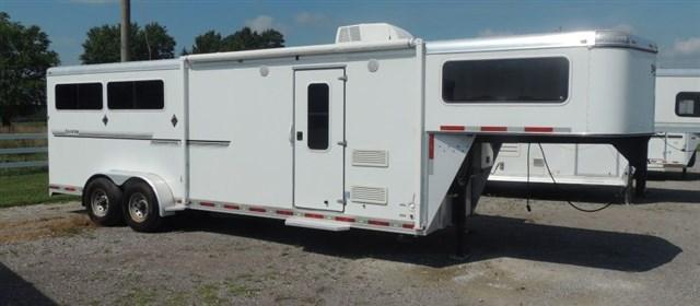 2009 Shadow 7309 Horse Trailer w/ Slide Out