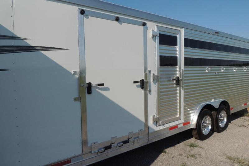 2020 Lakota 2020 Lakota Charger Stock Combo Horse Trailer