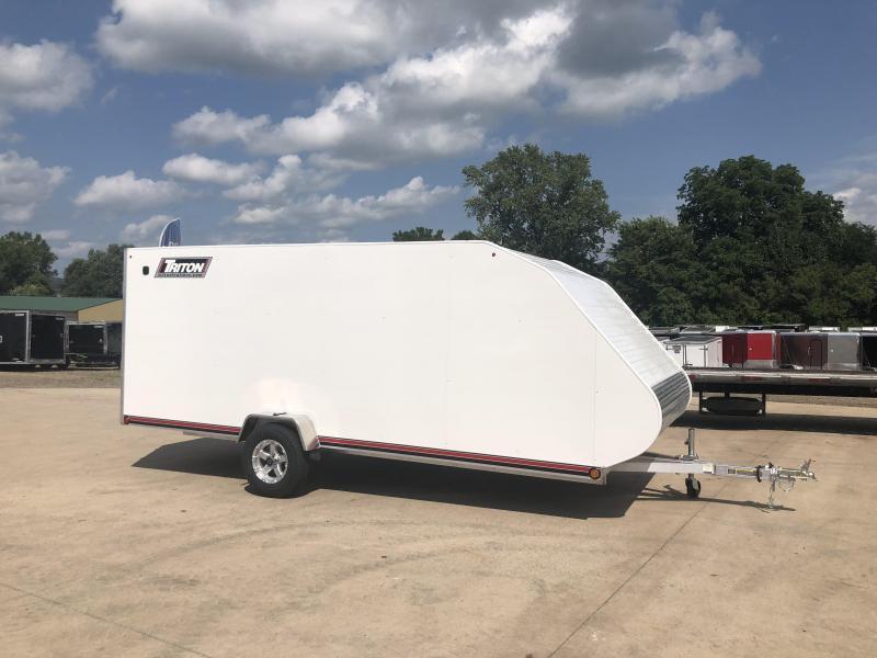 2019 Triton 7X16 Hybrid Snowmobile Trailer
