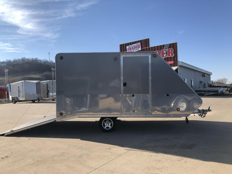 2013 R and R Trailers 101 x 12 Snowmobile Trailer