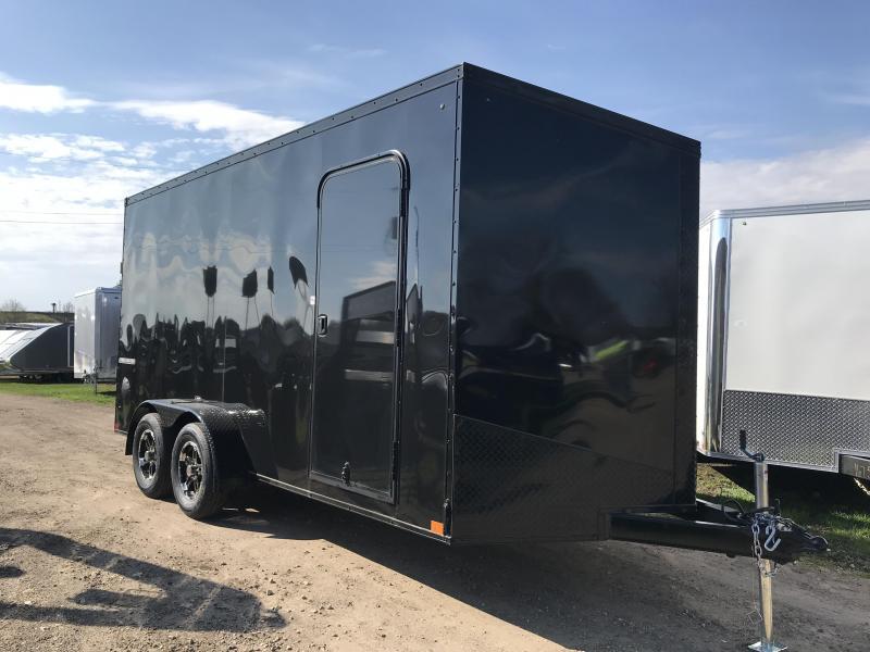 2020 Impact Trailers 7X16 Enclosed Cargo Trailer