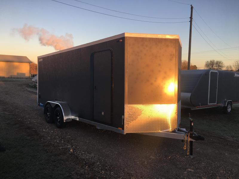 2019 Legend Manufacturing 7X18 Aluminum Enclosed Cargo Trailer