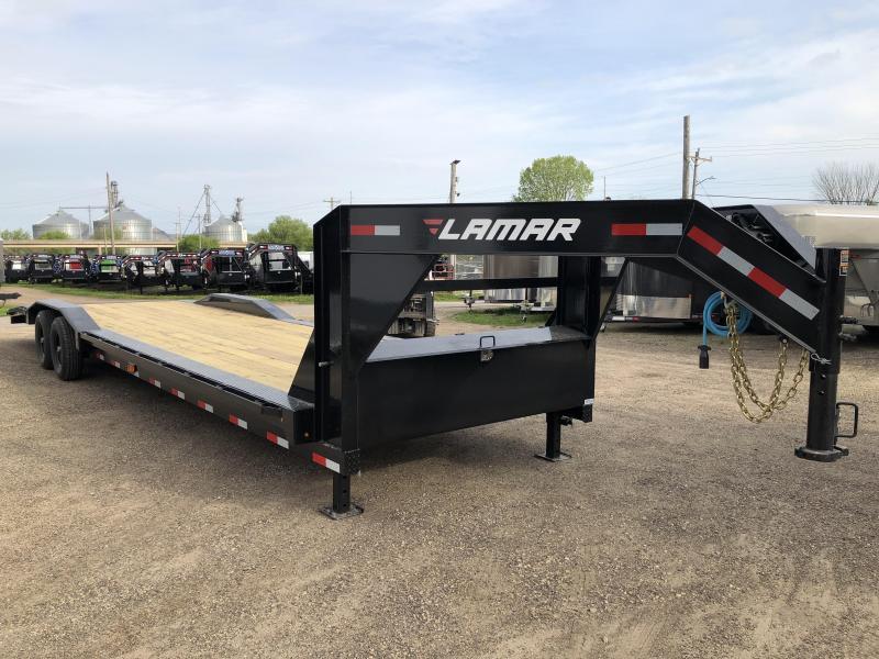 2019 Lamar Trailers 102X32 Gooseneck Car Hauler in Ashburn, VA