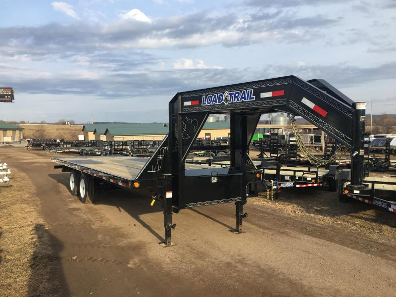 2019 Load Trail 102X26 Gooseneck Tilt Deck Equipment Trailer