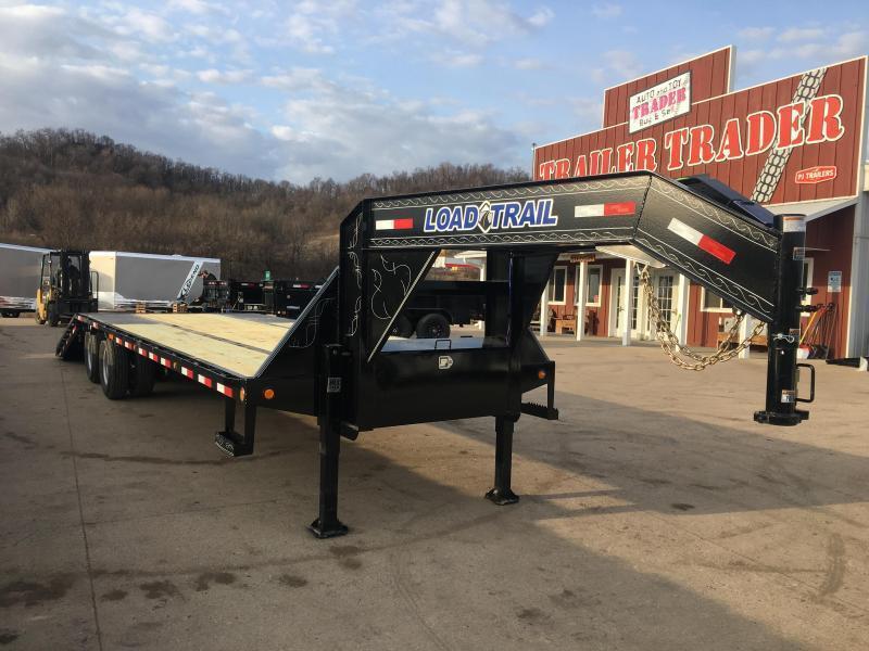 2019 Load Trail 102X32 Gooseneck Hydro Dove Equipment Trailer