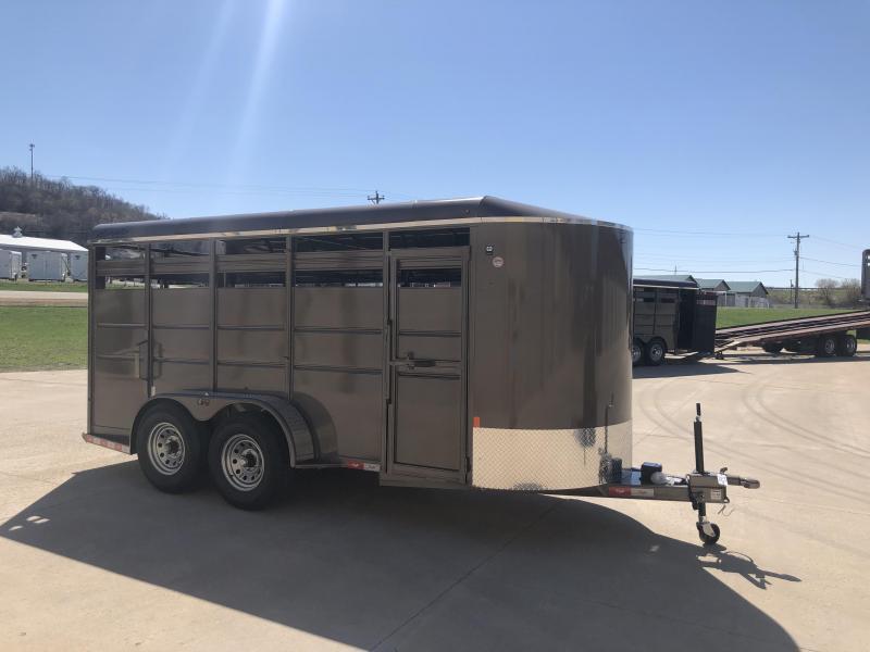 2019 Delta Manufacturing 6X16 Livestock Trailer in Ashburn, VA