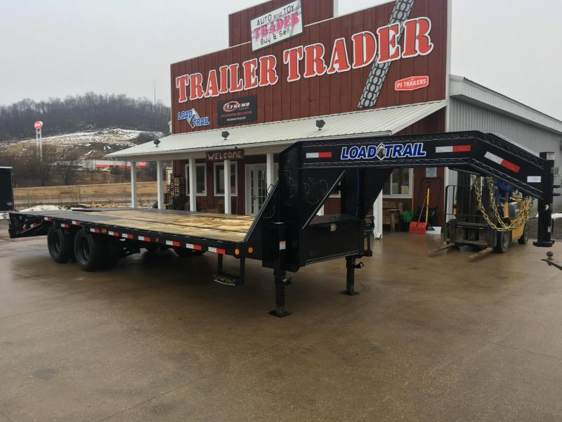 2019 Load Trail 102X25 Gooseneck Deckover Equipment Trailer in WI