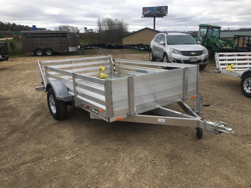 2019 Triton 82X10 Aluminum Utility Trailer