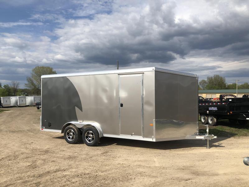 2019 NEO Trailers 7.5X16 Aluminum Enclosed Cargo Trailer