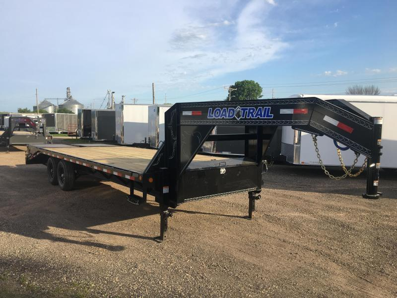 2018 Load Trail 102X25 Gooseneck Deckover Equipment Trailer