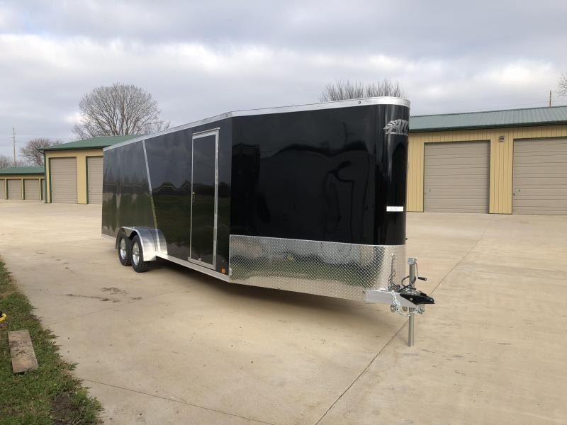 2019 Aluminum Trailer Company 7X28 Inline Snowmobile Trailer in Ashburn, VA