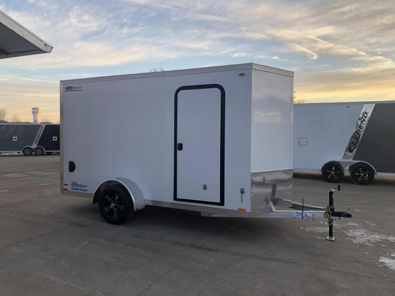 2019 Legend Manufacturing 6X12 Aluminum Enclosed Cargo Trailer