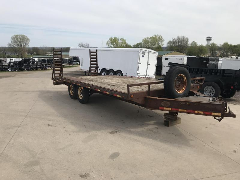 2005 Load Trail 102X20 Deckover Equipment Trailer