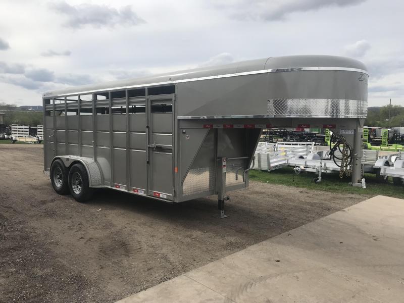 2019 Delta Manufacturing 6X16 Gooseneck Livestock Trailer in Ashburn, VA