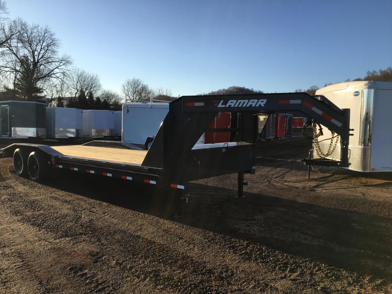 2019 Lamar Trailers 102X26 Gooseneck Car Hauler in Ashburn, VA