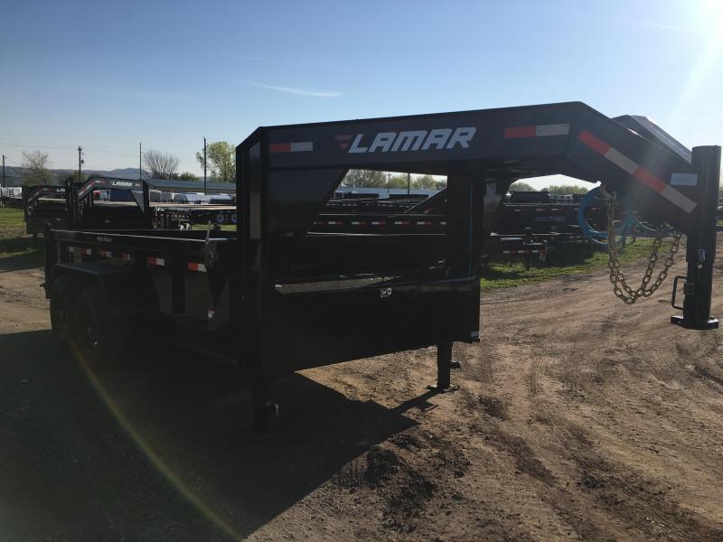 2019 Lamar Trailers 83X14 Gooseneck Dump Trailer