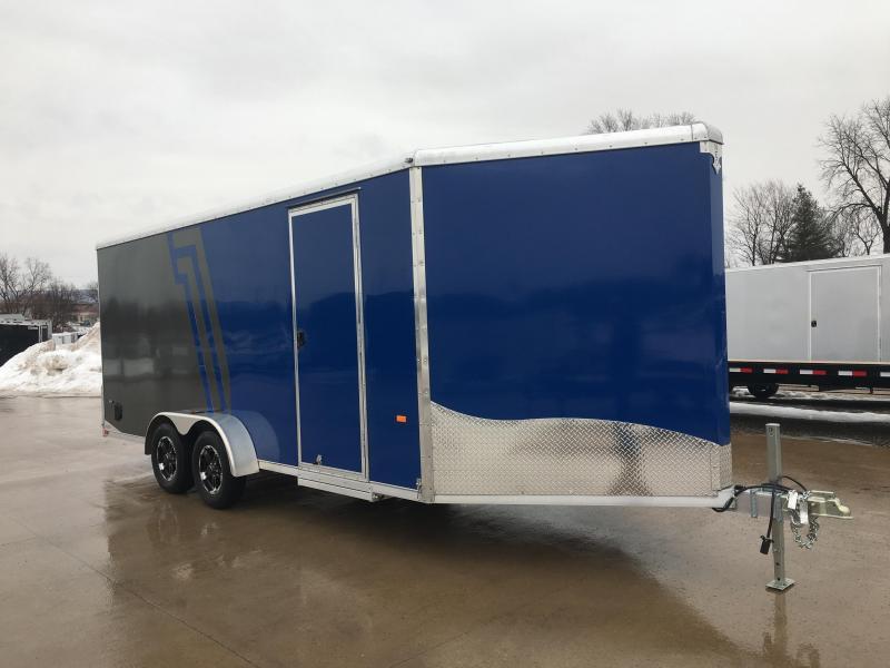 2019 NEO Trailers 7X22 Inline Snowmobile Trailer - DEALER DEMO
