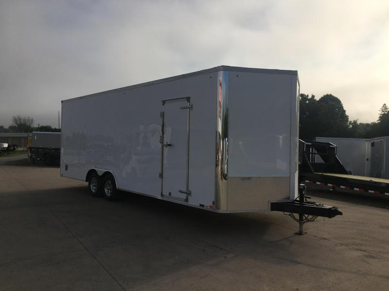 2020 United Trailers 8.5X24 Enclosed Cargo Trailer